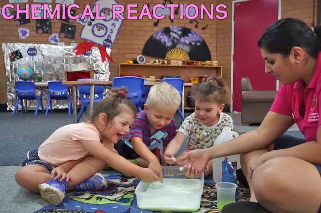Sydney Childcare Centre Science Experiments