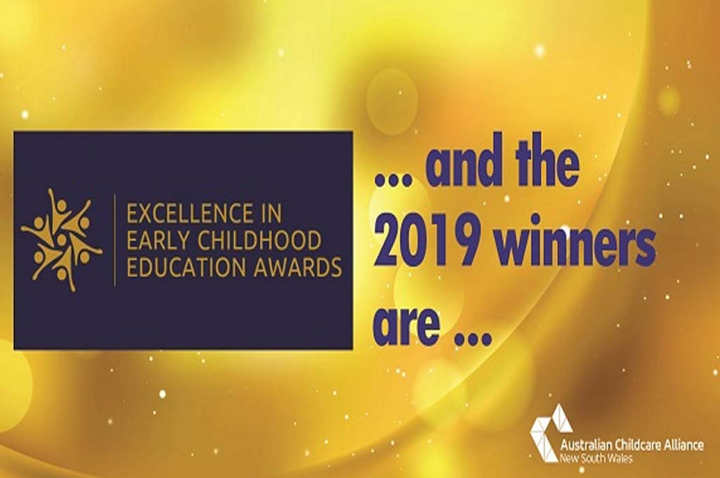 excellence in early childhood education awards