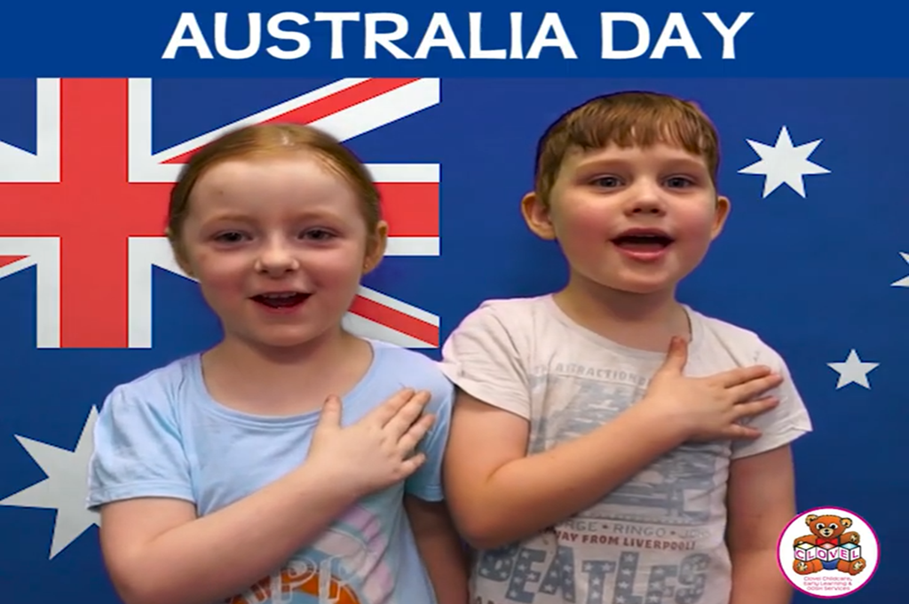 Australia Day National Anthem Performance