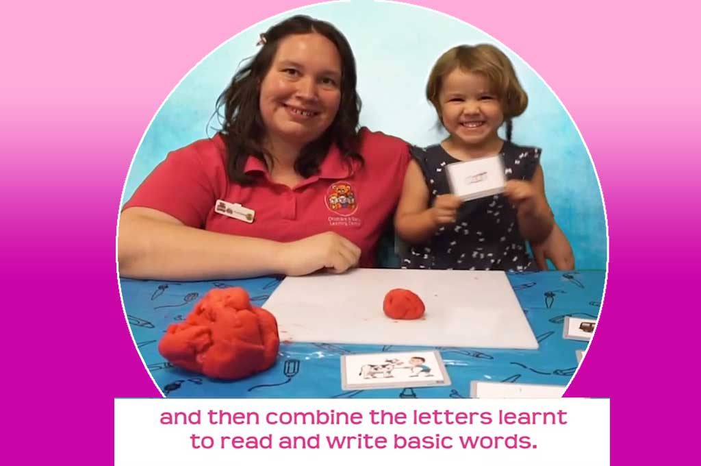 I Love Reading Spelling with Playdough Activity