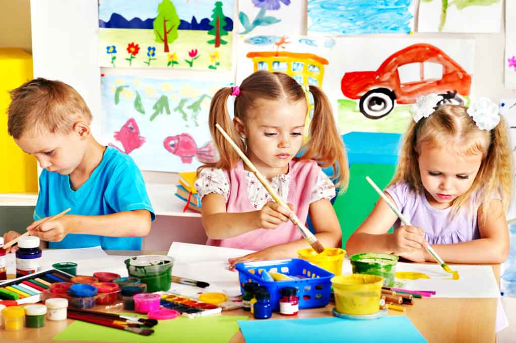 creative learning and development for children