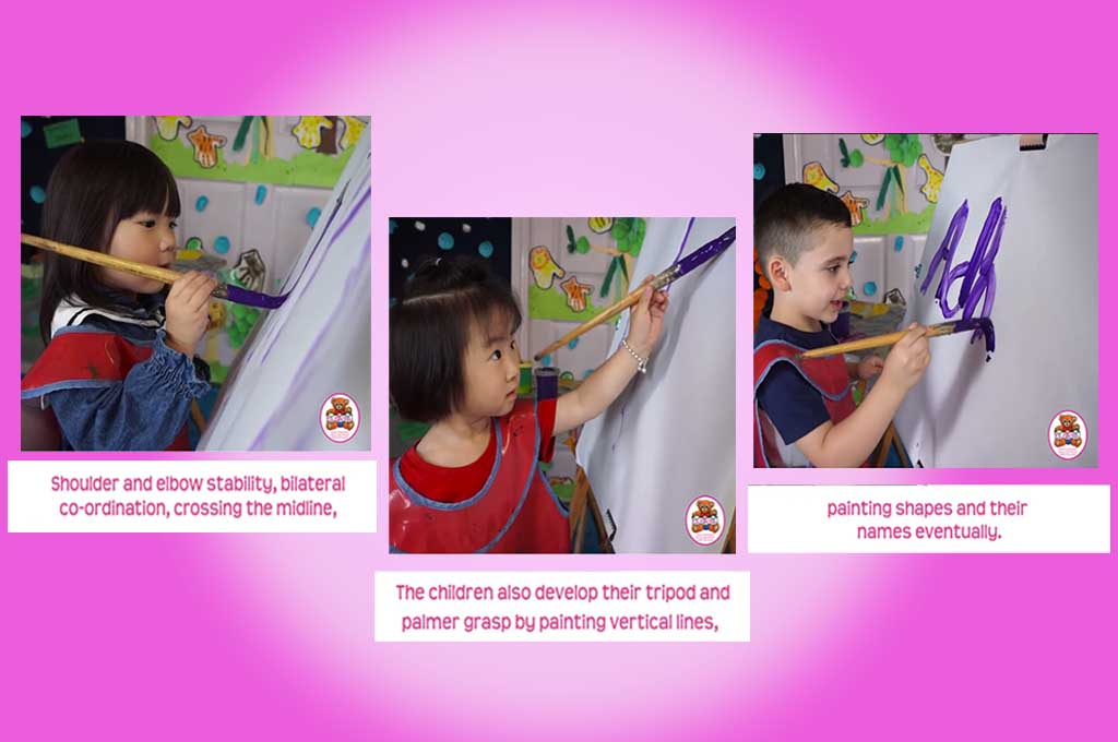 easel painting activity