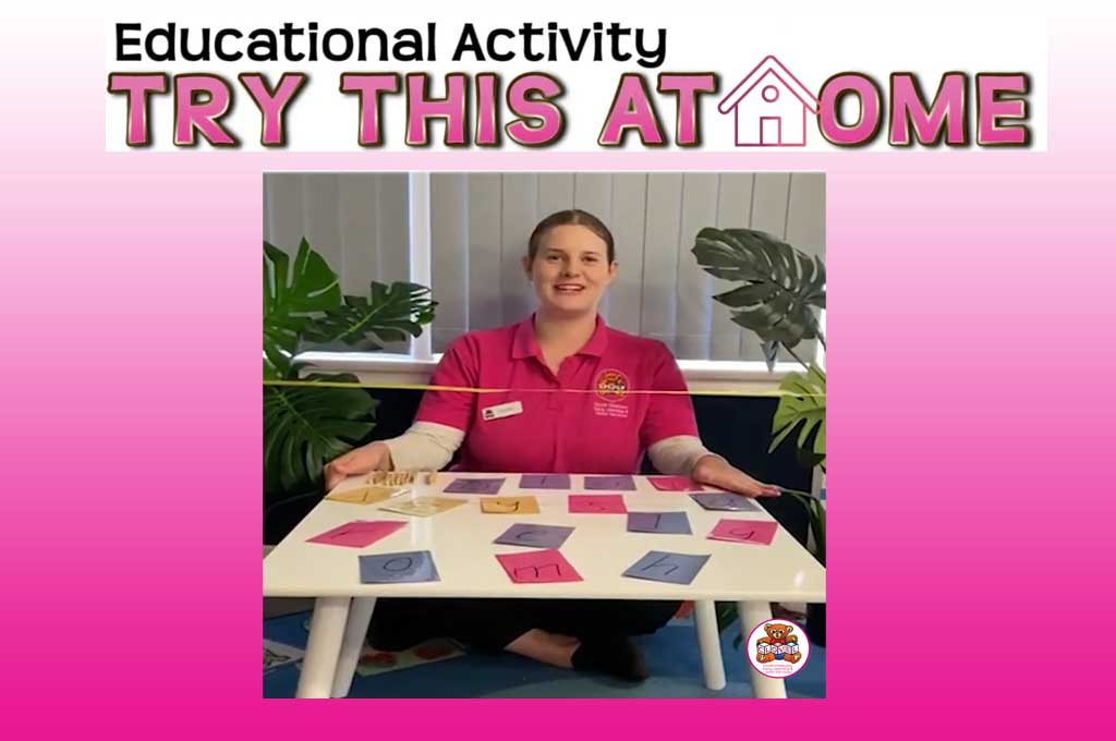 Clovel home activity - literacy letters