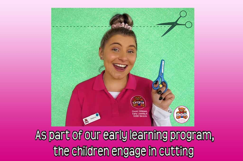 cutting with scissors for children