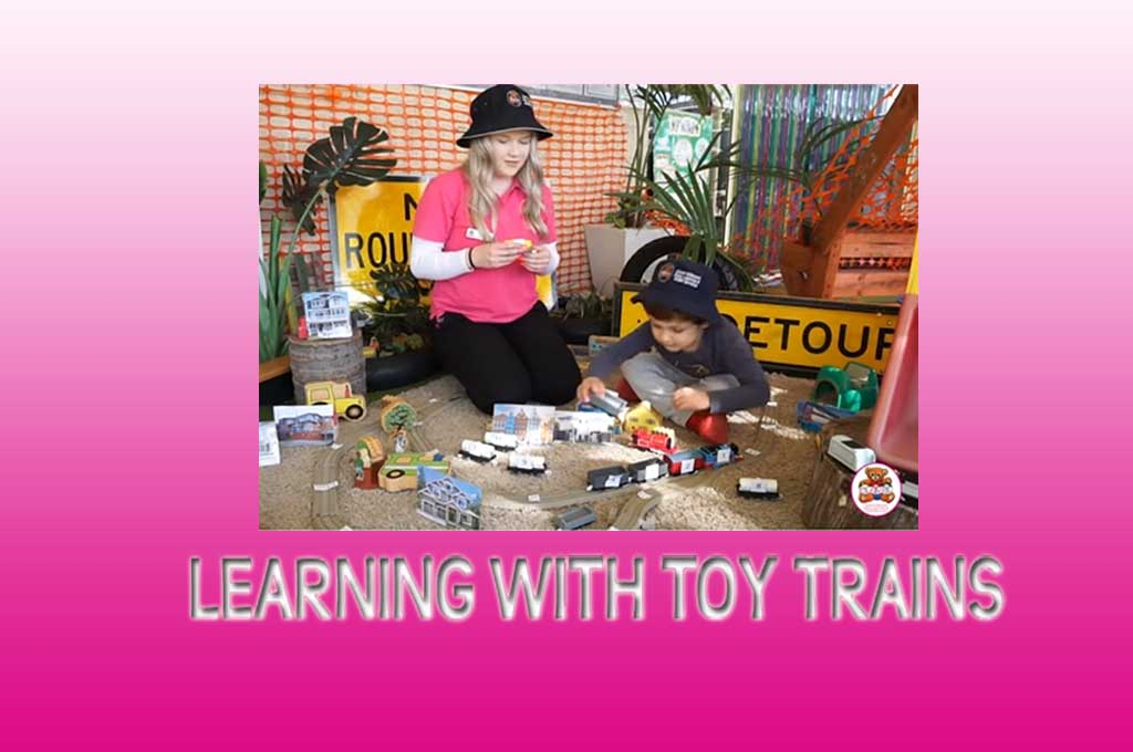 learning with toy trains