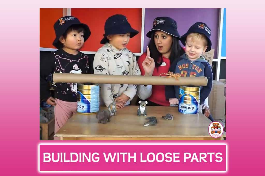 loose parts childcare activity