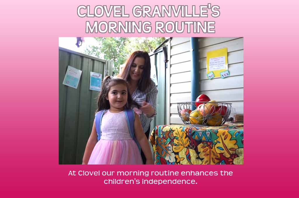 granville's morning routine