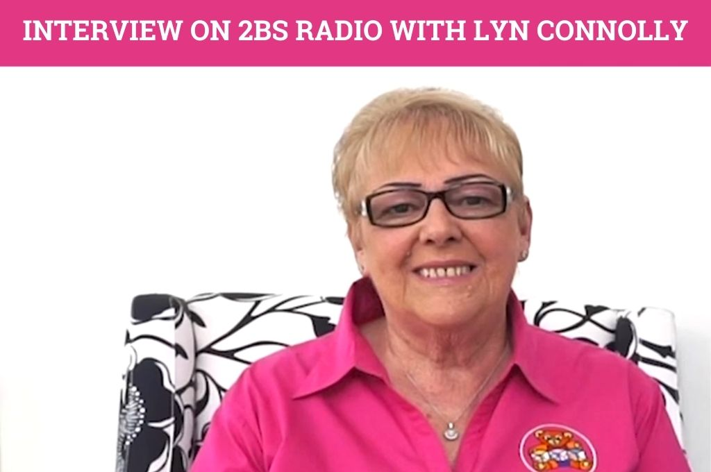 Interview on 2BS Radio with Lyn Connolly